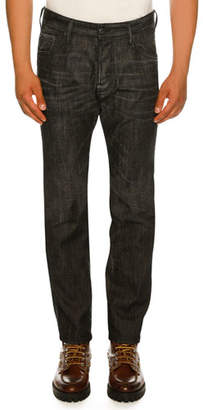 DSQUARED2 Slim-Fit Faded Jeans
