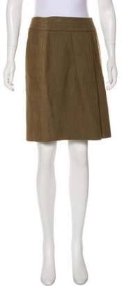 Etro Tweed Knee-Length Skirt