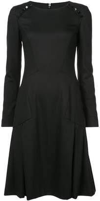 Carolina Herrera long-sleeve flared dress
