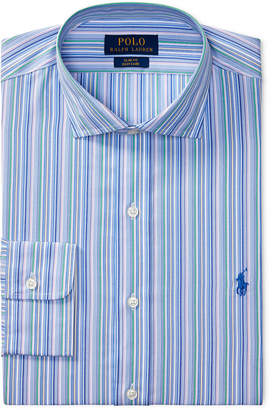 Polo Ralph Lauren Men's Classic/Regular Fit Easy-Care Striped Dress Shirt