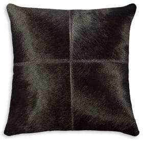 NATURAL RUGS Torino Quattro Patchwork Dyed Cow Hair 18x18 Pillow