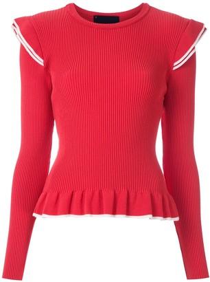 Andrea Bogosian long sleeves knitted blouse
