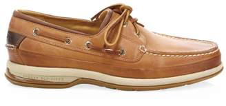 Gold Cup Leather Boat Shoe