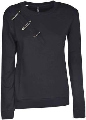 Versace Safety Pin Slit Sweatshirt