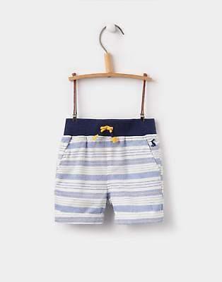 Huey Stripe Woven Shorts in Yellow Stripe Size 3min6m