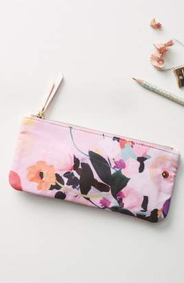 Anthropologie Picturesque Florals Pencil Pouch