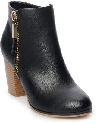 Apt. 9 Timezone Women's High Heel Ankle Boots
