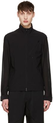 Y-3 Black Mesh Track Jacket $420 thestylecure.com