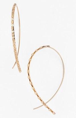 Women's Lana Jewelry 'Glam' Small Upside Down Hoop Earrings $495 thestylecure.com
