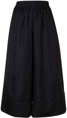 Joseph cropped wide leg trousers
