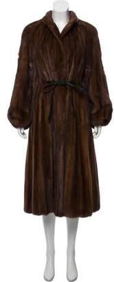 Pierre Balmain Vintage Mink Fur Coat