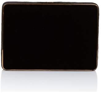Hunting Season Black Velvet Compact Square Clutch