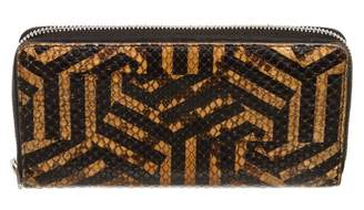 Gucci Brown Exotic leathers Wallets