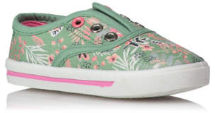 George Floral Lace Free Trainers