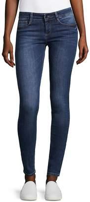 SET Women's The Jamie Skinny Jeans - Blue Denim, Size 32 (10-12)