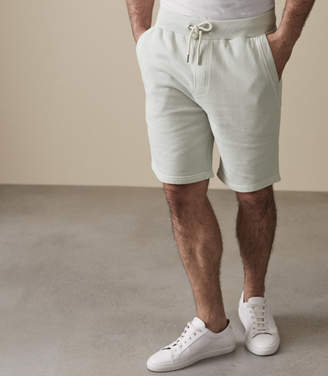 Reiss ORDER BY MIDNIGHT DEC 15TH FOR CHRISTMAS DELIVERY JOEY JERSEY SHORTS Mint