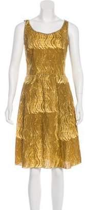 Prada Sport Printed Sleeveless Dress