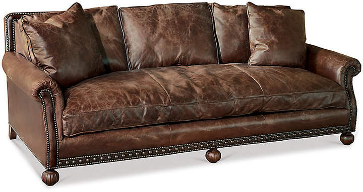 Aran Isles Sofa - Saddle Leather - Ralph Lauren Home
