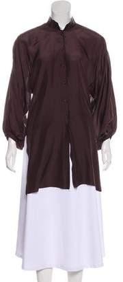 Damir Doma Silk Long Sleeve Top