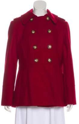 MICHAEL Michael Kors Double Breasted Wool Jacket