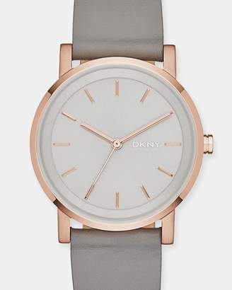 DKNY Soho Grey Analogue Watch