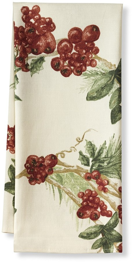 Williams-Sonoma Botanical Berry Towels, Set of 2