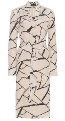 By Malene Birger Fabimo Printed Silk Dress