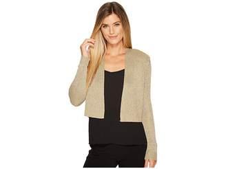 Calvin Klein Lurex Shrug Women's Sweater
