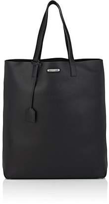 Saint Laurent Men's Leather Shopping Tote Bag - Black