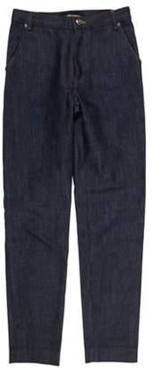 Vanessa Seward Mid-Rise Skinny Jeans blue Mid-Rise Skinny Jeans