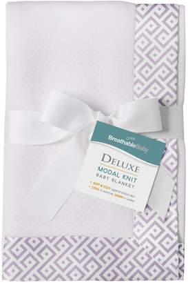 BreathableBaby Diamond Design Modal Blanket