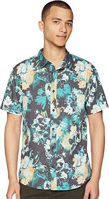 O'Neill Men's Standard Fit Short Sleeve Woven Party Shirt