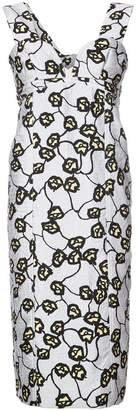 Marni v-neck sheath dress
