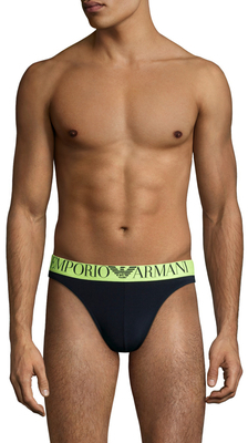 Trendy Fluo Piping Microfiber Thong $42 thestylecure.com