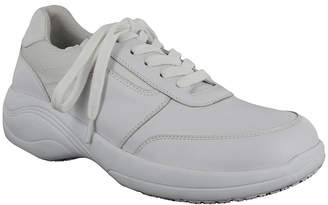 EASY WORKS BY EASY STREET Easy Works By Easy Street Womens Middy Oxford Shoes Elastic Round Toe