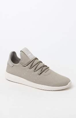 adidas x Pharrell Williams Beige Tennis Hu Shoes