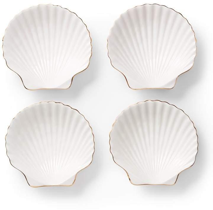 Shell Appetiser Plates (Set of 4)