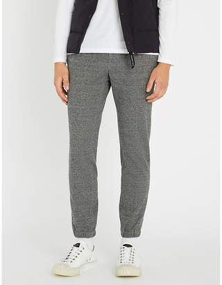 SLOWEAR Tailored cotton and linen-blend jogging bottoms