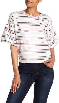 CODEXMODE Short Bell Drop Shoulder Sleeve Tee