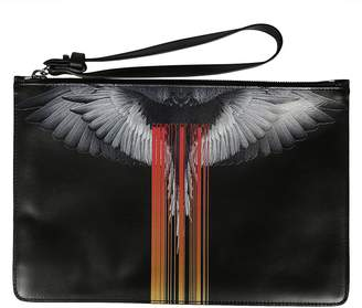 Marcelo Burlon County of Milan Graphic Print Clutch