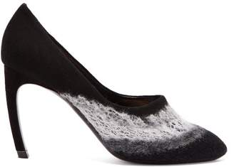 Nicholas Kirkwood Kim Felted Wool Pumps - Womens - Black