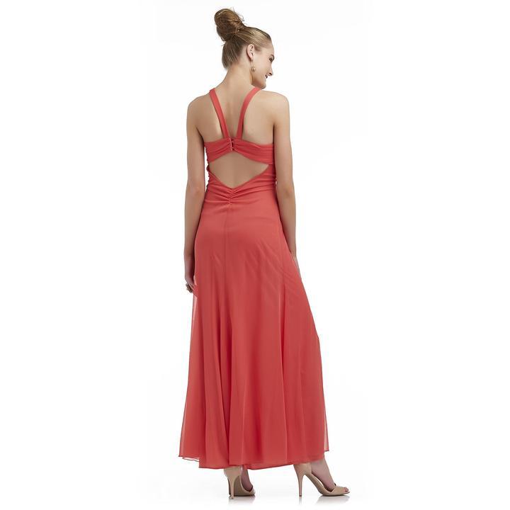 Ruby Rox Junior's Embellished Chiffon Maxi Gown