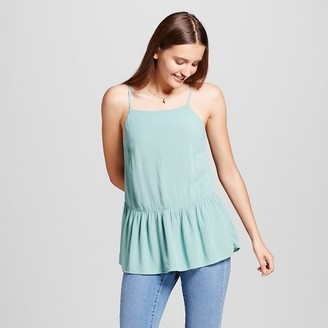 Mossimo Supply Co. Women's Drapey Woven Tank Turquoise - Mossimo Supply Co. $16.99 thestylecure.com