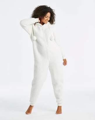 at simply be a pretty secrets fleece bear christmas onesie