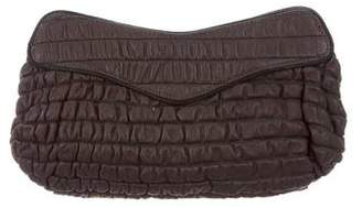 Lauren Merkin Quilted Leather Clutch