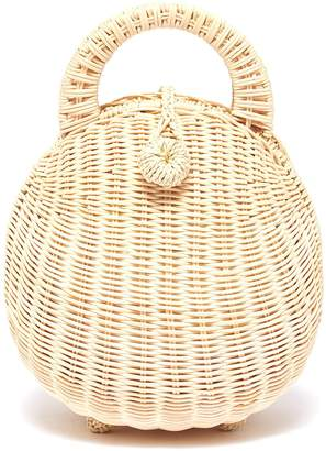 Cult Gaia 'Millie' rattan top handle bag