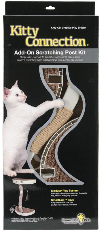 Innovation Pet Kitty Connection Sisal Post and Toy Package
