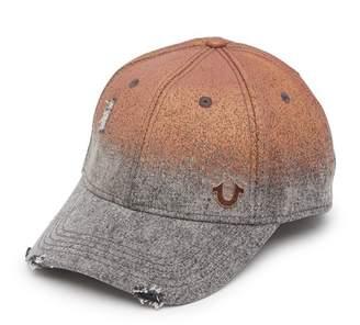 True Religion Rusty Metallic Baseball Cap