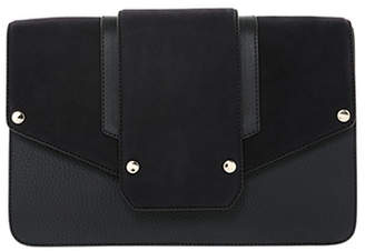 Mackage EFFY LEATHER CLUTH WITH MAGNET CLOSURE