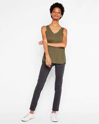 Express One Eleven Lace-Up Back London Tank